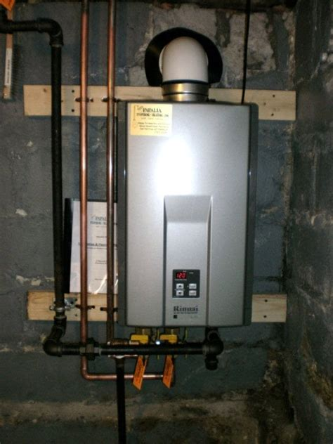 Papalia Plumbing Reviews by A Rinnai Tankless Water Heater Installation Yelp