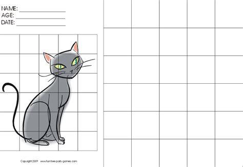 Grid Drawings Templates by Grid Drawing Worksheet Free Worksheets Library