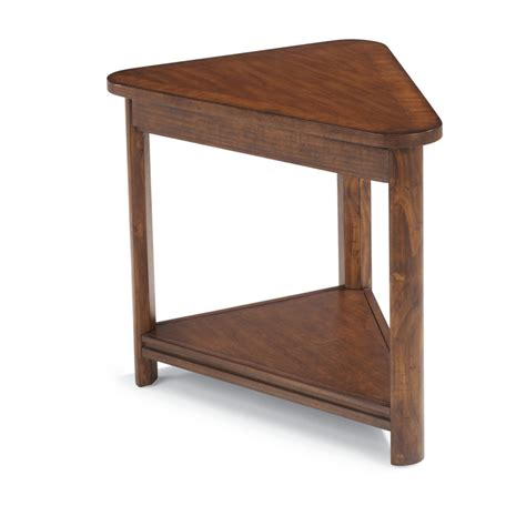 Wedge Table by Flexsteel 6658 0770 Arbor Wedge Table Discount Furniture At Hickory Park Furniture Galleries