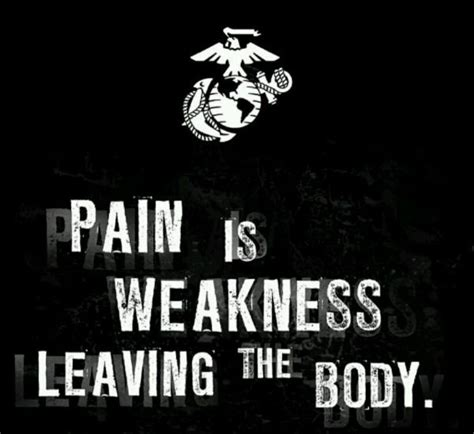 pain is weakness leaving the body tattoo is weakness leaving the quotes