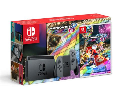 Nintendo Switch Gray Botw Mario Kart 8 Deluxe the mario kart 8 deluxe nintendo switch bundle is real but only for russia