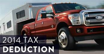 buy new car tax deduction how to get a tax deduction when buying a truck