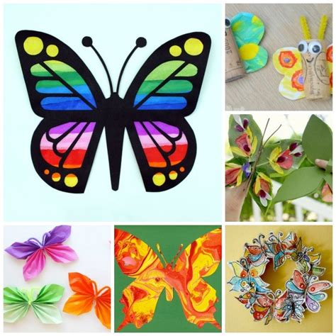 butterfly craft for 35 butterfly crafts ted s