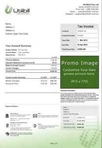 Pdf Statement Formats Utility Billing Electric Bill Template