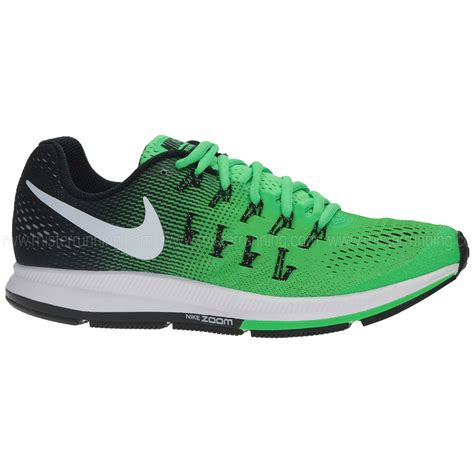 Nike Zoom Pegasus nike zoom pegasus 33 black and green graysands co uk