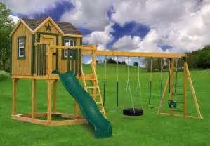 Backyard Playset Reviews by Outdoor Swing Sets Reviews Outdoor Furniture Design And