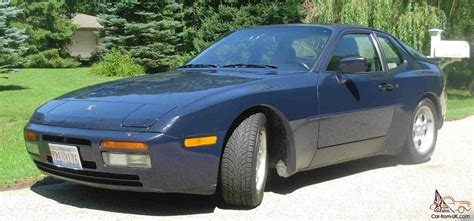 porsche 944 blue rare copenhagen blue metallic color 944 turbo