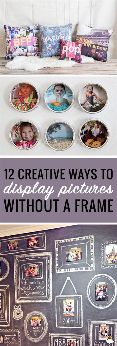 creative ways to display photos without frames 25 best display pictures trending ideas on family picture frames picture walls and