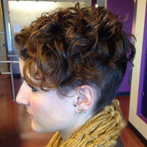 pixie haircut with body perm images 1000 images about curly undercut on pinterest curly