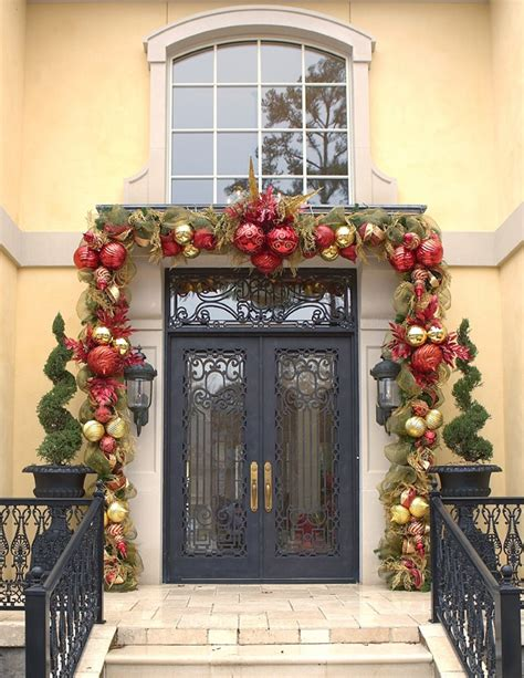 christmas outdoor decorations interior design styles and a whole bunch of christmas entry and porch ideas style
