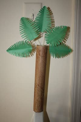 rolled paper palm trees eager mind palm tree craft for easter