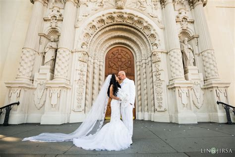 catholic wedding churches in los angeles st vincent catholic church los angeles wedding norma donny