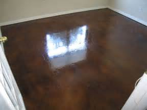 Concrete Garage Floor Stain by Concrete Stain For Garage Floor Diy And Home Ideas