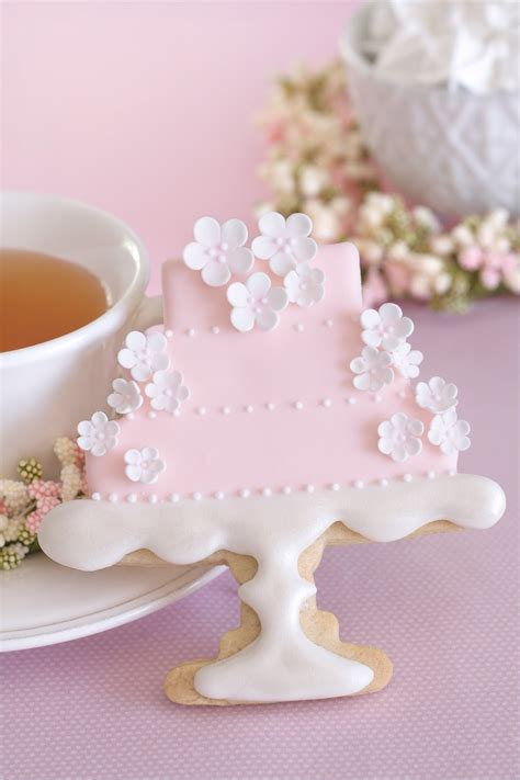Wedding Cake Cookies by Wedding Cake Cookies On Wedding Cookies