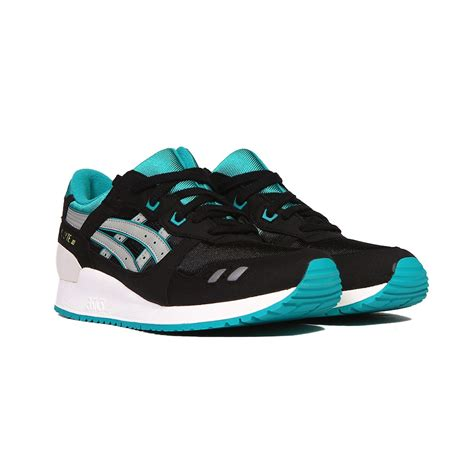 2nd Asics Gel Lyte Iii Toddler asics gel lyte iii 3 gs black light grey teal kid s shoes c5a4n 9013