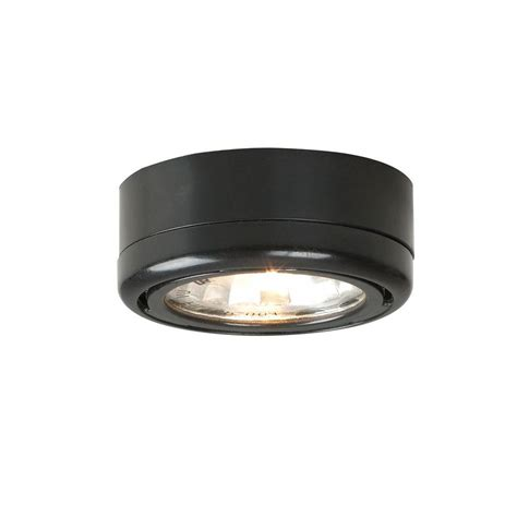 Kitchen Cabinets Organization Ideas hampton bay 1 light under cabinet black puck light