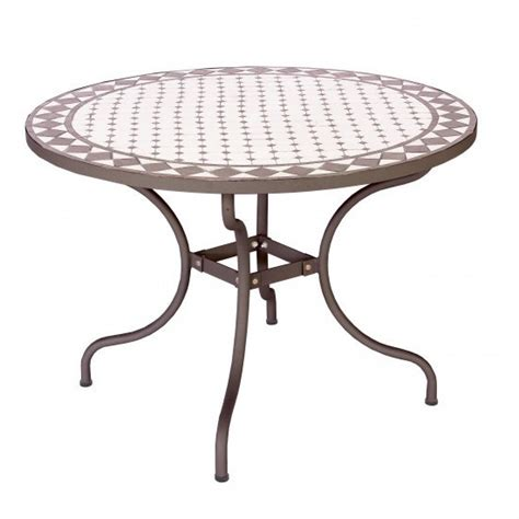 tavoli in ferro battuto e mosaico tavolo giardino con mosaico tavoli giardino offerte