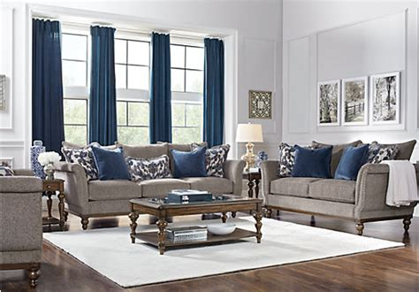 Living Room Place by Home Chatham Place Slate 5 Pc Living Room