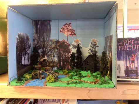 diorama book report ogden preparatory academy 4th grade book report dioramas