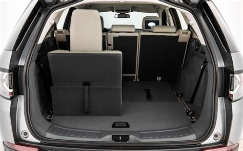 land rover discovery sport trunk space 2015 land rover discovery sport built for versatility 24 44