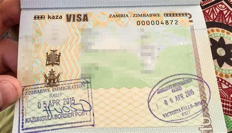 Cover Letter Zambia Visa And Zambia Working Towards Uni Visa Facility