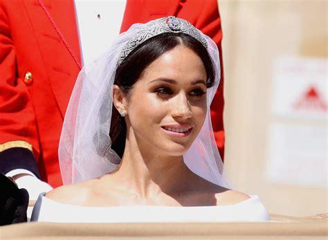 meghan markle what tiara did she wear the real reason meghan markle didn t wear princess diana s