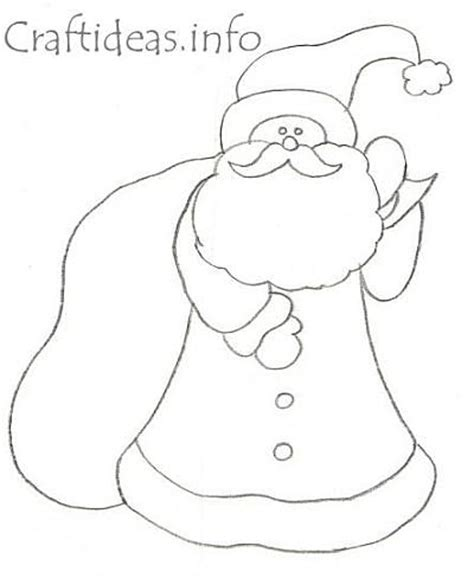 santa claus craft template santa claus templates is it for is it free is