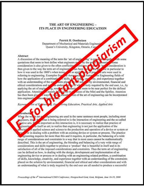 Plagiarism Free Research Papers by Papers On Plagiarism