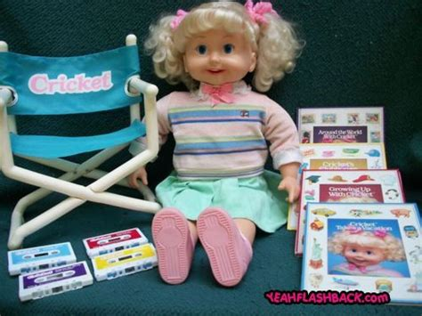 Were Your Childhood Toys A Predictor Of What Of Person Youd Become by Cricket Doll From The 80s My And Bought One For