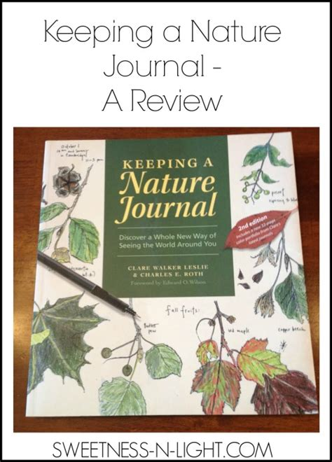 keeping a nature journal keeping a nature journal a review the curriculum choice