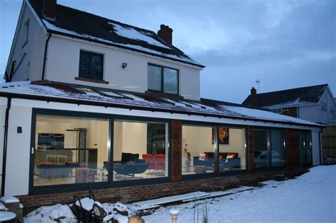 house extension designs house extension ideas lean to wrap around extension internals transform