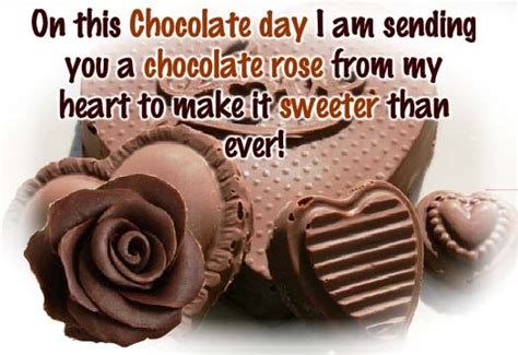 chocolate day whatsapp status  messages facebook status