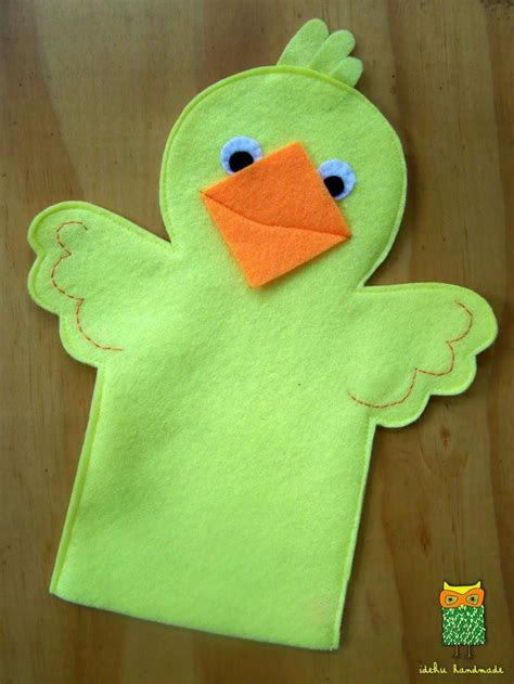 Handmade Finger Puppets - 1000 ideas about puppets on puppets
