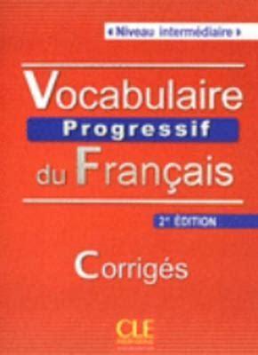 vocabulaire explique du francais 2090331372 vocabulaire progressif du francais nouvelle edition