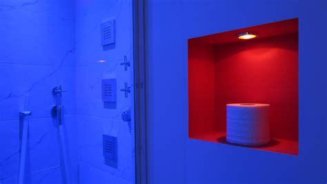 How To Design A Small Bathroom bauhaus 1 bathroom colour changing lights