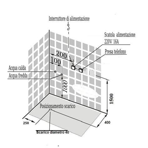 colonna doccia con radio box doccia idromassaggio angolare 80x80 con cromoterapia