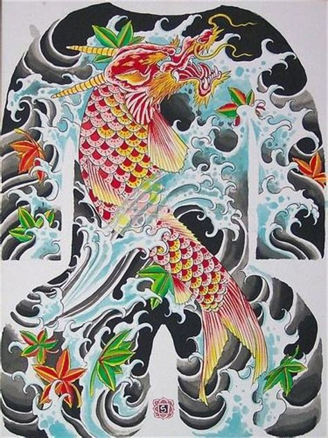 yakuza tattoo fish japanese yakuza koi tattoo design tattooimages biz