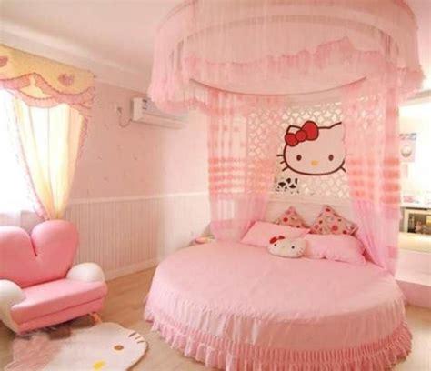 adorable  kitty bedroom ideas  girls rilane