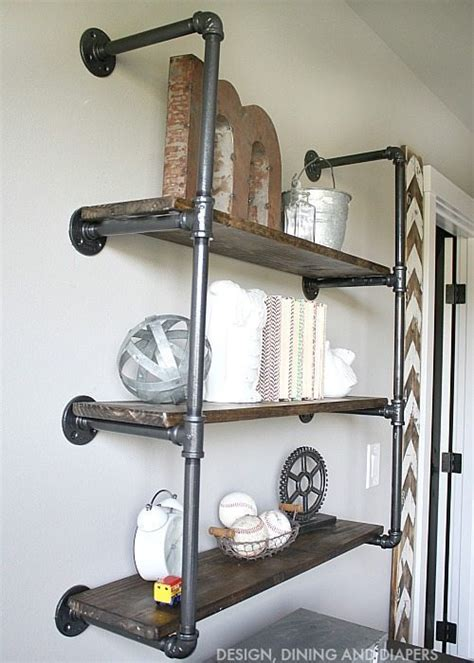 9 Piece Dining Room Set by Industrial Piping Shelves Taryn Whiteaker