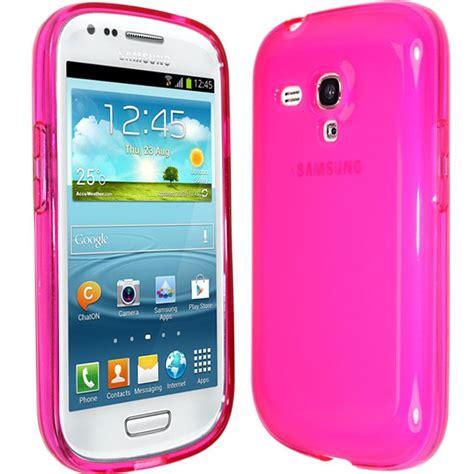 Spigen Samsung S3 Mini I8190 transparent tpu soft silicone gel cover for samsung