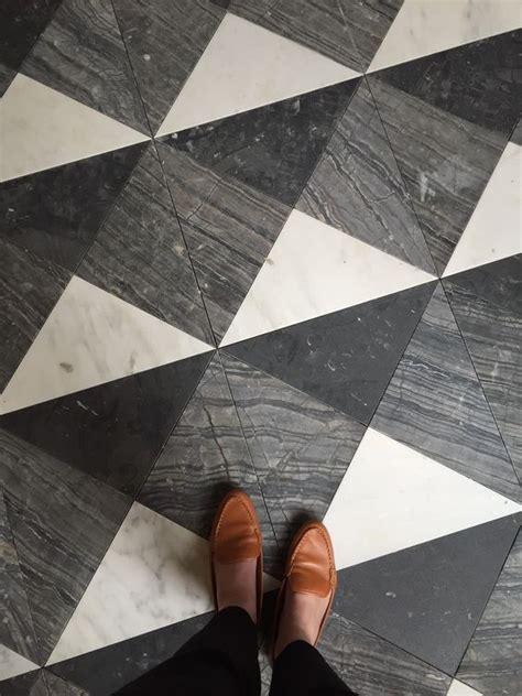 Image result for triangle tile floor cafe   cafe reno