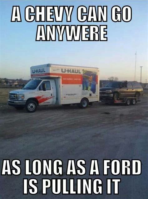 Chevy Vs Ford Memes - 1000 ideas about ford humor on pinterest ford jokes
