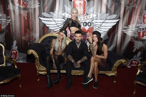 tattoo expo doncaster tattoo jam held at doncaster racecourse attracts thousands