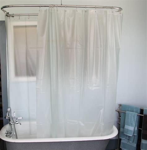 Bathtub Curtain by Fresh Clawfoot Tub Shower Curtain Rod Diy 18475