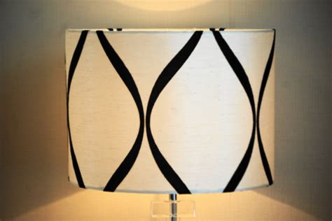 Black And White Chandelier Shades Black And White Silk Lshade By Cherry B Lshades Contemporary L Shades By Etsy