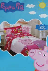 peppa pig twin bedding peppa pig oink pink twin comforter sheets 4pc bedding set