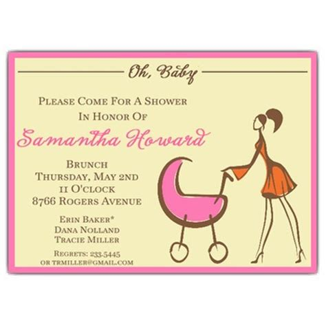 What To Write On A Baby Shower Invitation by What To Write On Baby Shower Invite Invitation Ideas
