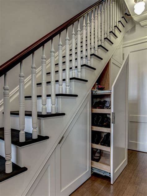 under stair ideas traditional staircase design ideas remodels photos