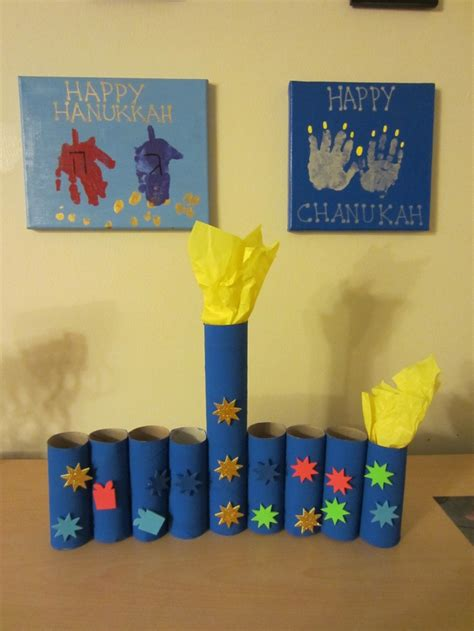 hanukkah craft projects dreidel and menorah handprint hanukkah crafting
