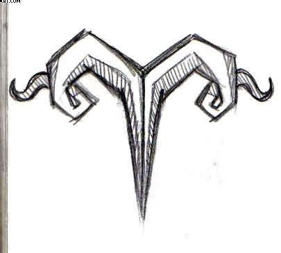 aries tribal symbol tattoo best 25 aries symbol ideas on zodiac tattoos
